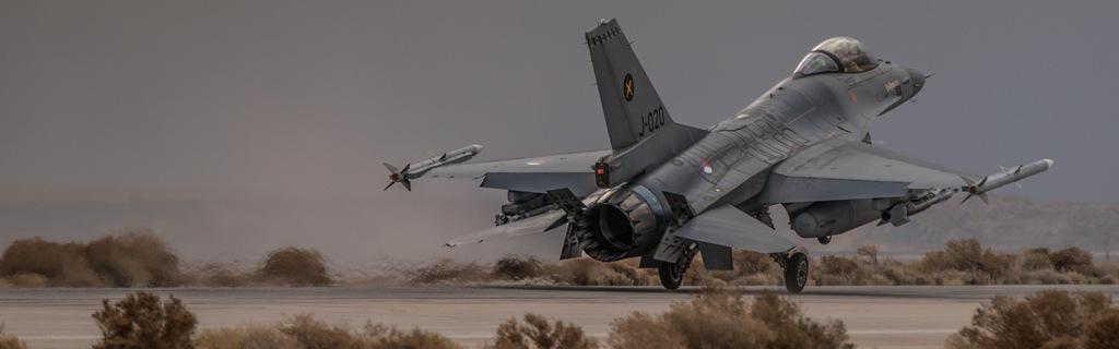 F-16 detachement Jordanie