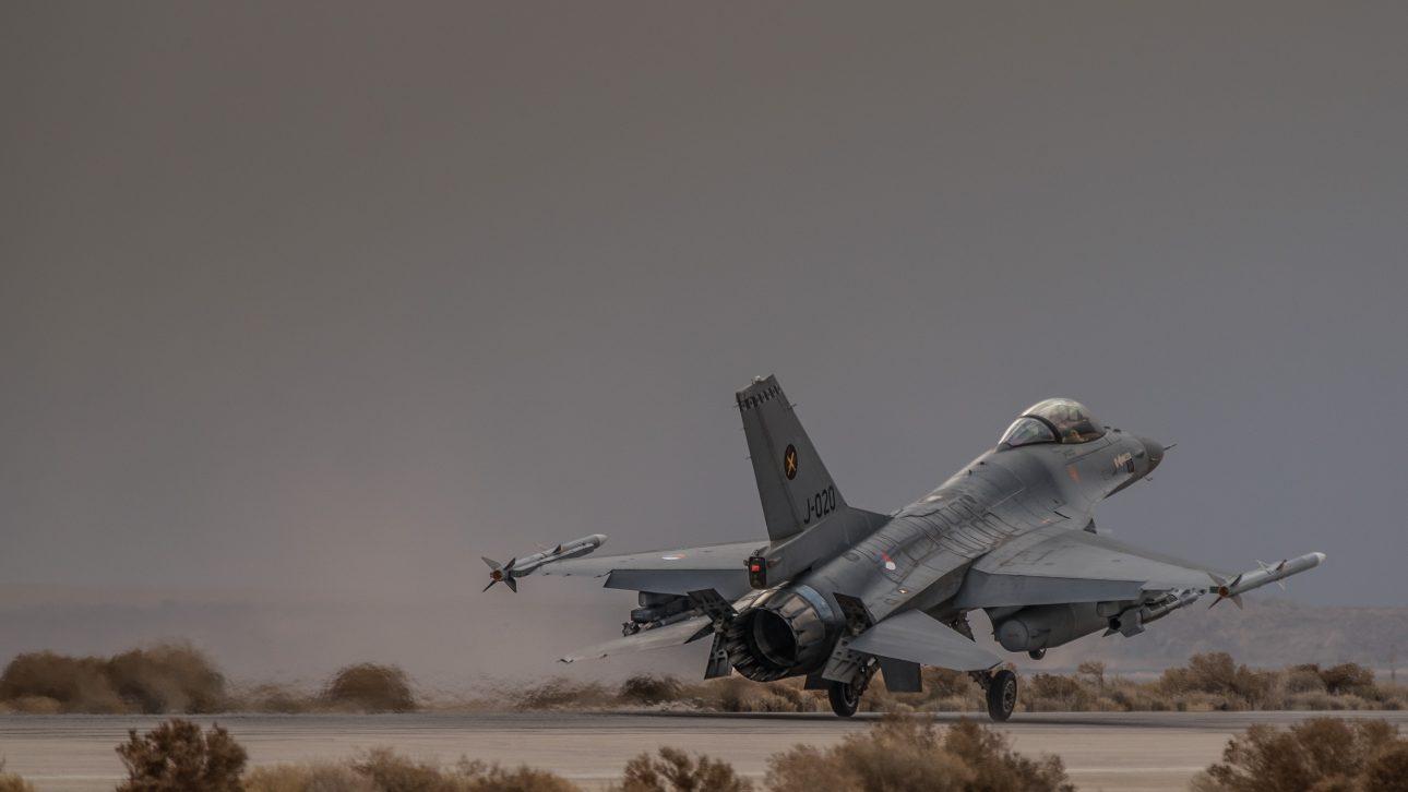 Jordanie, januari 2018.Missie in Jordanie met Nederlandse F-16 's.